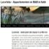 Appartementen, vakantiehuizen en B&B Lucertola